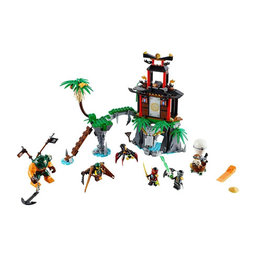 LEGO 70604 Tiger Widow Island NINJAGO