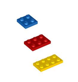 LEGO Plaatjes (laag 2x2-2x3-2x4)