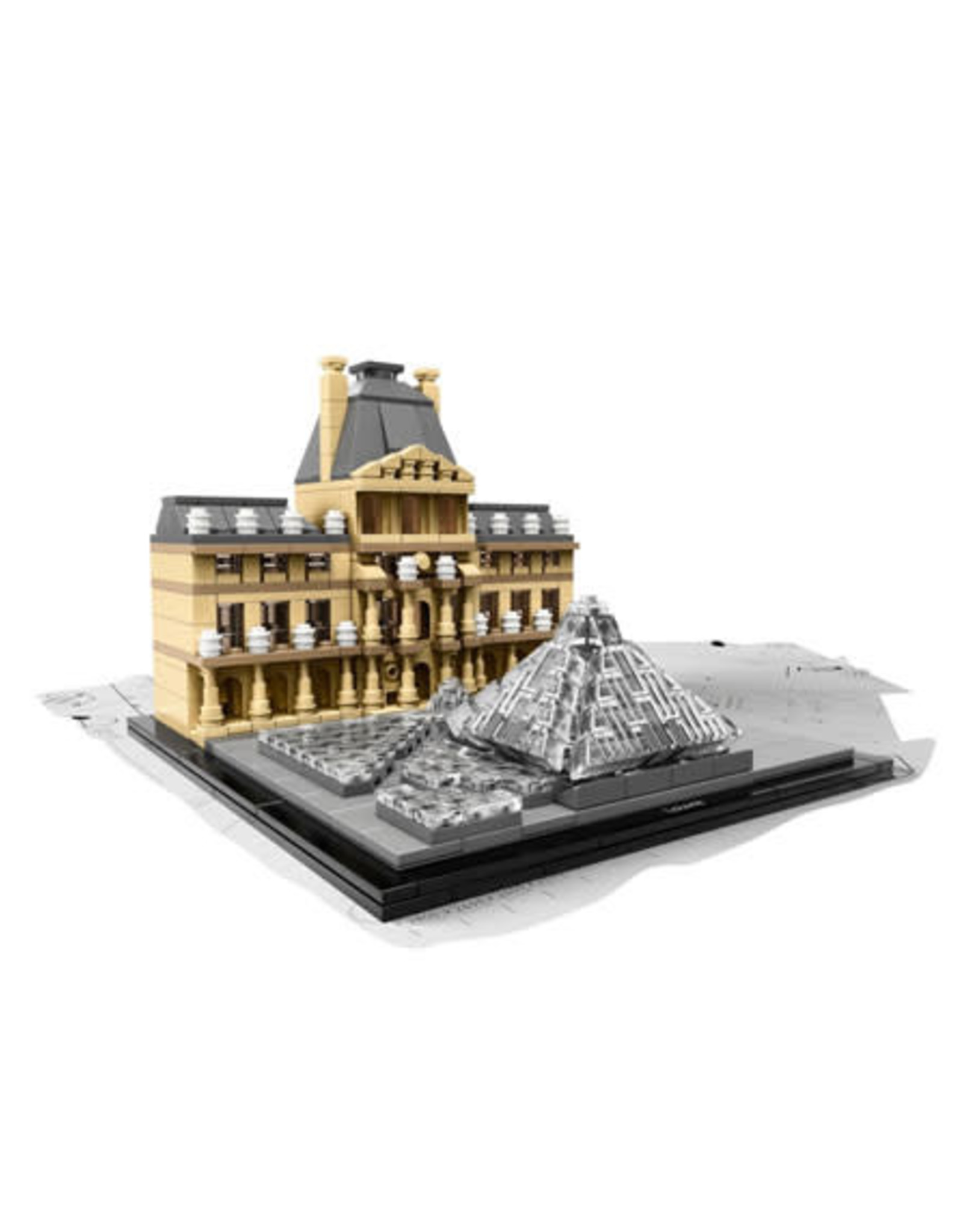 LEGO LEGO 21024 Louvre - Architecture - SPECIALS