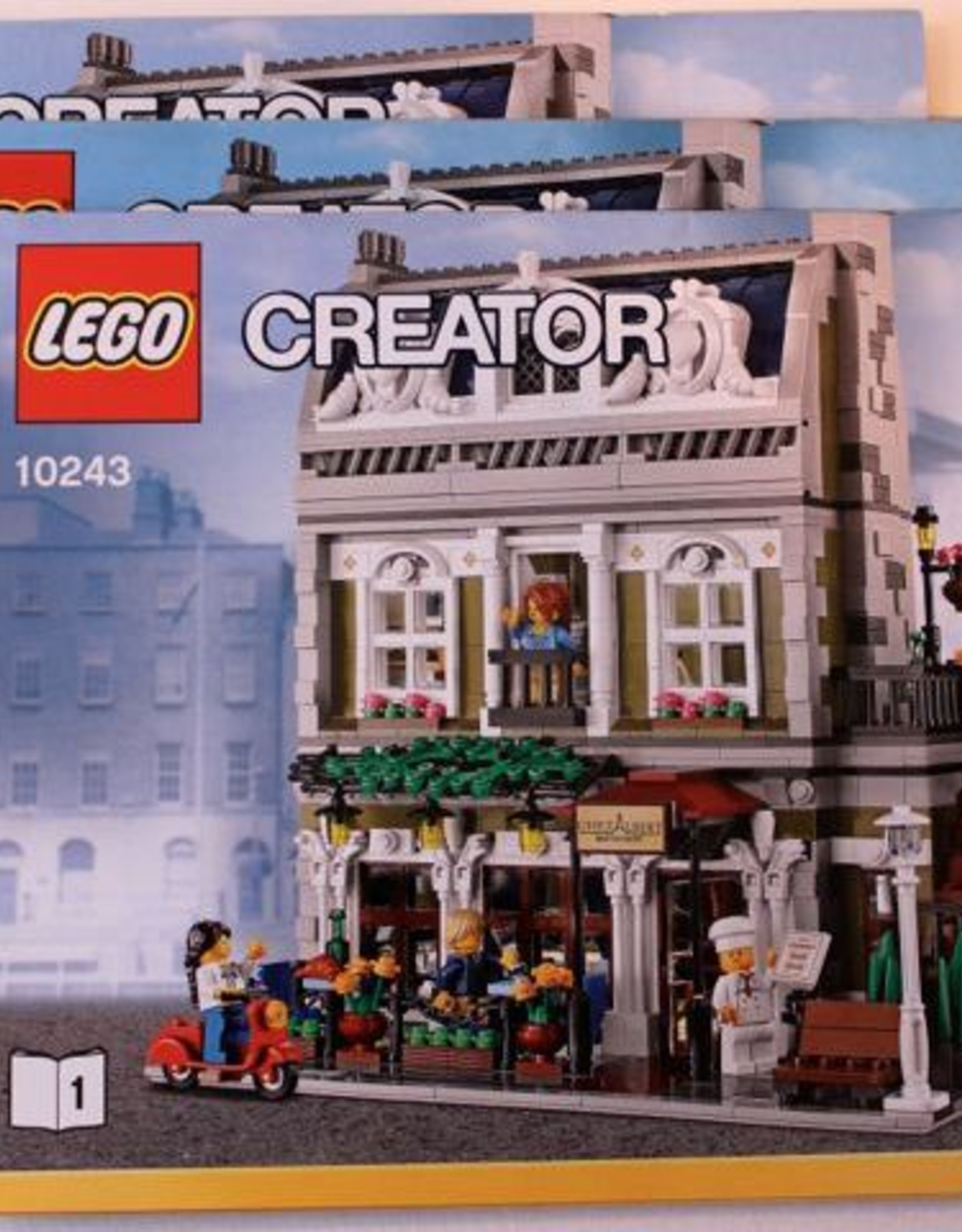 LEGO LEGO 10243 Parisian Restaurant CREATOR Expert