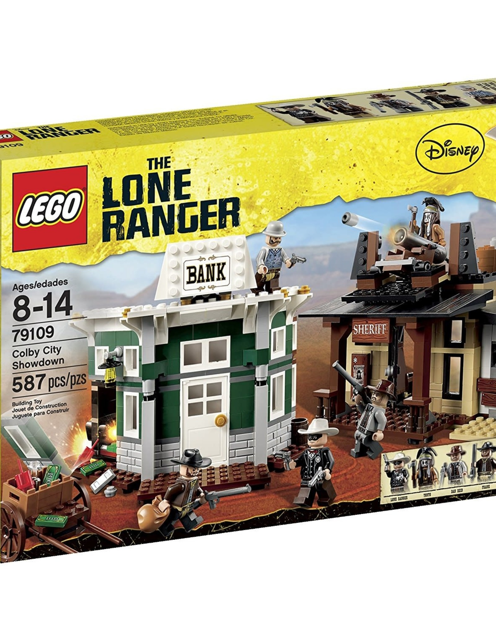 LEGO LEGO 79109 Colby City Showdown LONE RANGER