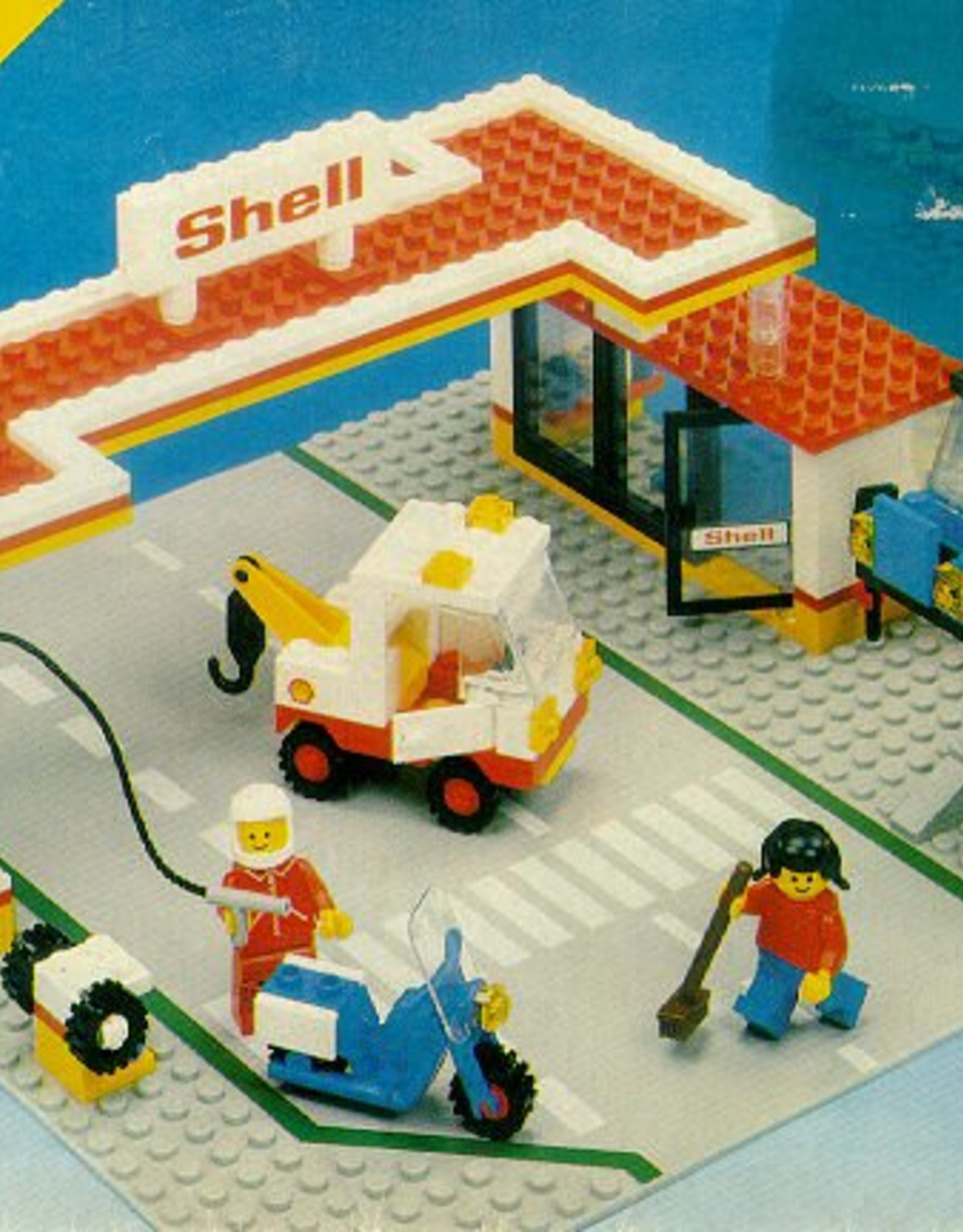 LEGO LEGO 6371 Service Station LEGOLAND Gebruikt