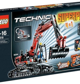 LEGO 66318 Technic Super Pack 4 in 1 (8259, 8290, 8293, 8294) TECHNIC