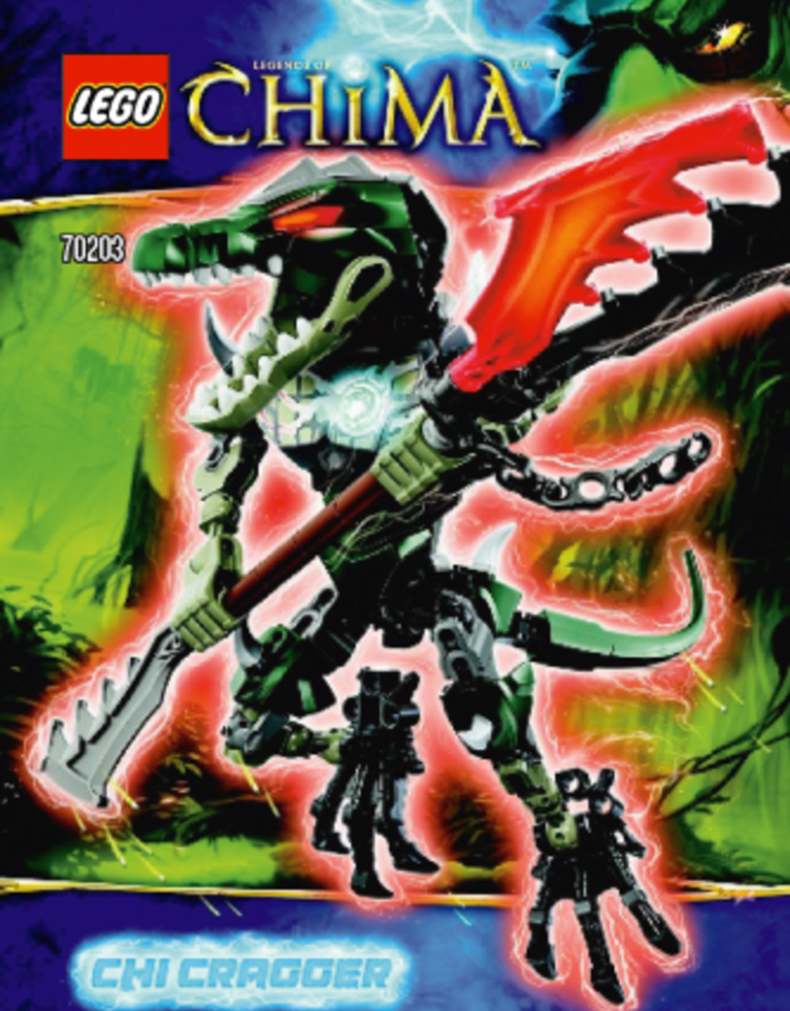 LEGO LEGO 70203 CHI Cragger CHIMA