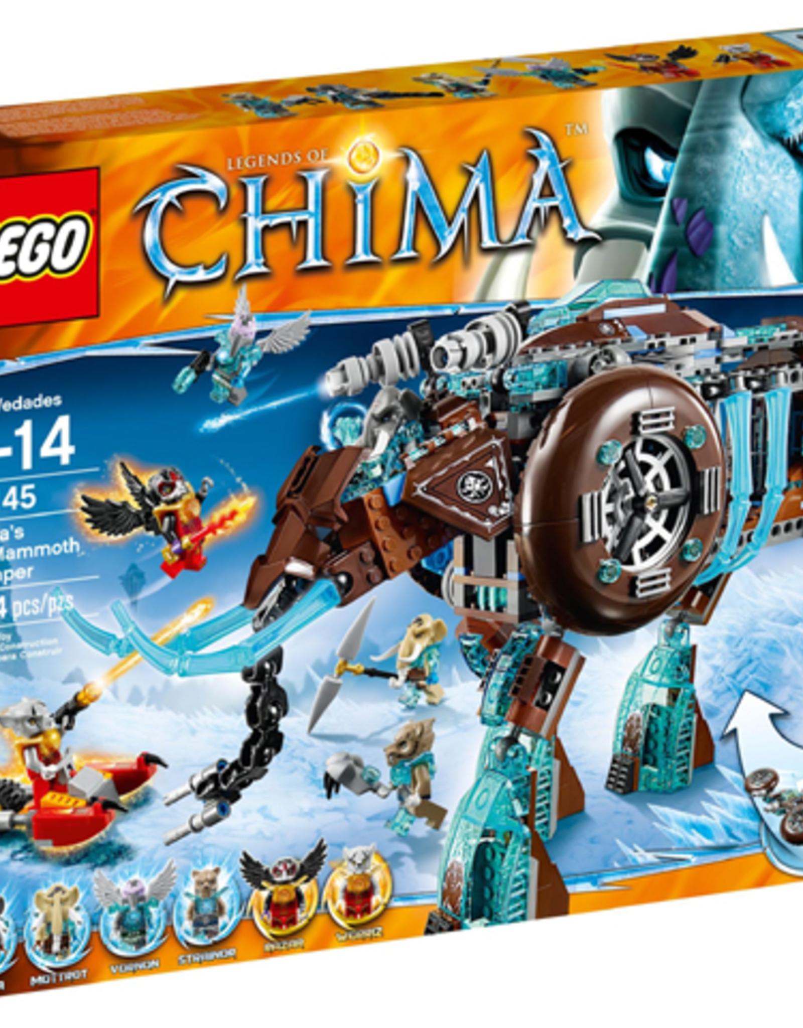 LEGO LEGO 70145 Maula's Ice Mammoth Stomper CHIMA