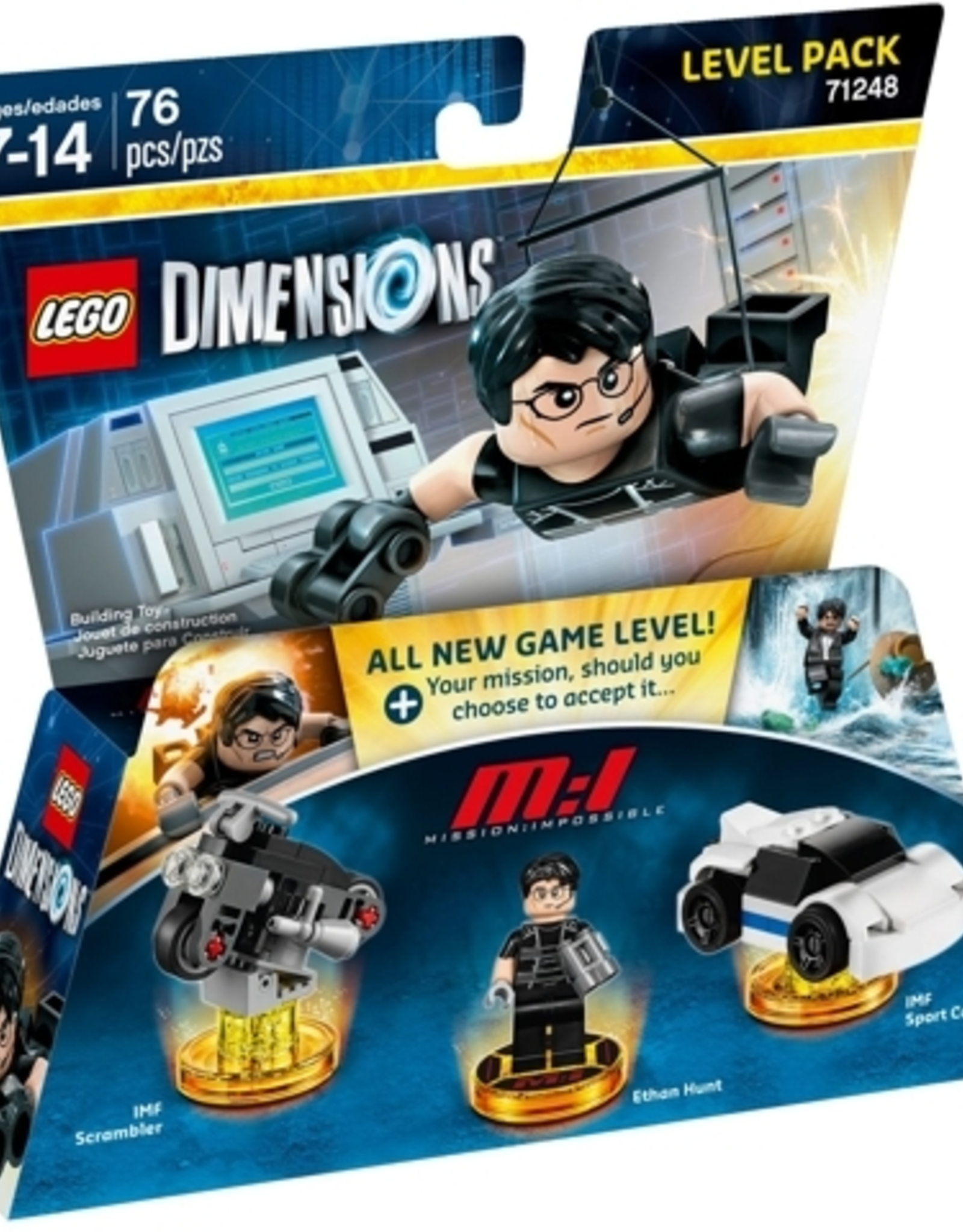 LEGO LEGO 71248 Level Pack - Mission: Impossible Dimensions