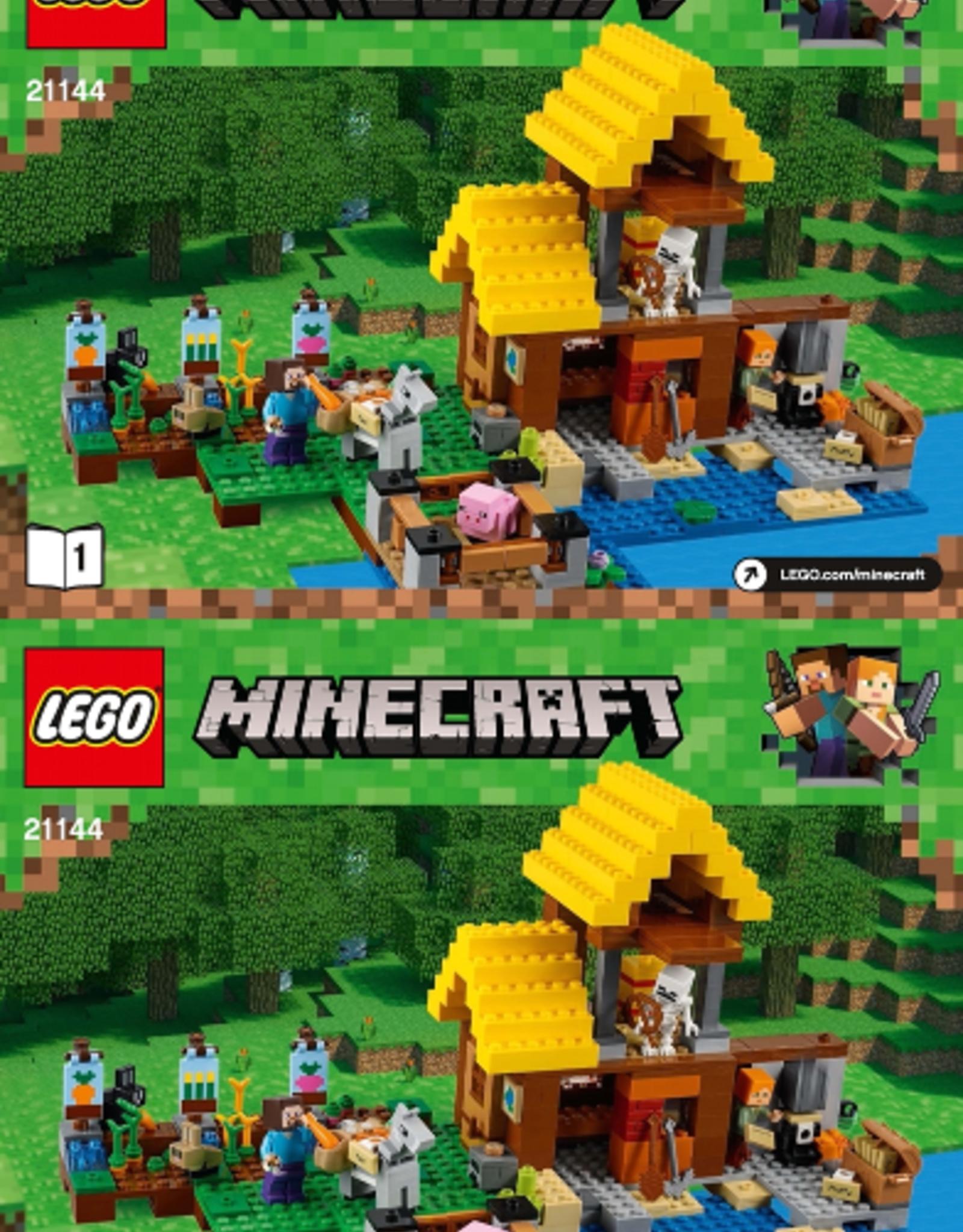 LEGO LEGO 21144 The Farm Cottage MINECRAFT