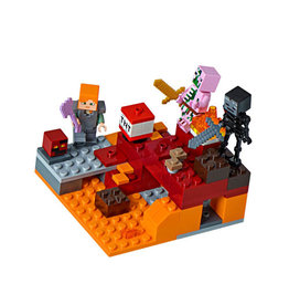 LEGO 21139 The Nether Fight MINECRAFT