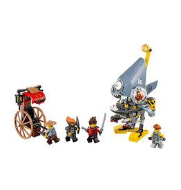 LEGO 70629 Piranha Attack NINJAGO movie