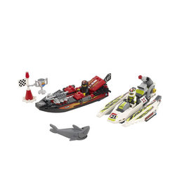 LEGO 8897 Jagged Jaws Reef WORLD RACERS