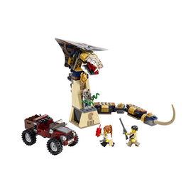 LEGO 7325 Curses Cobra Statue PHARAOH'S QUEST