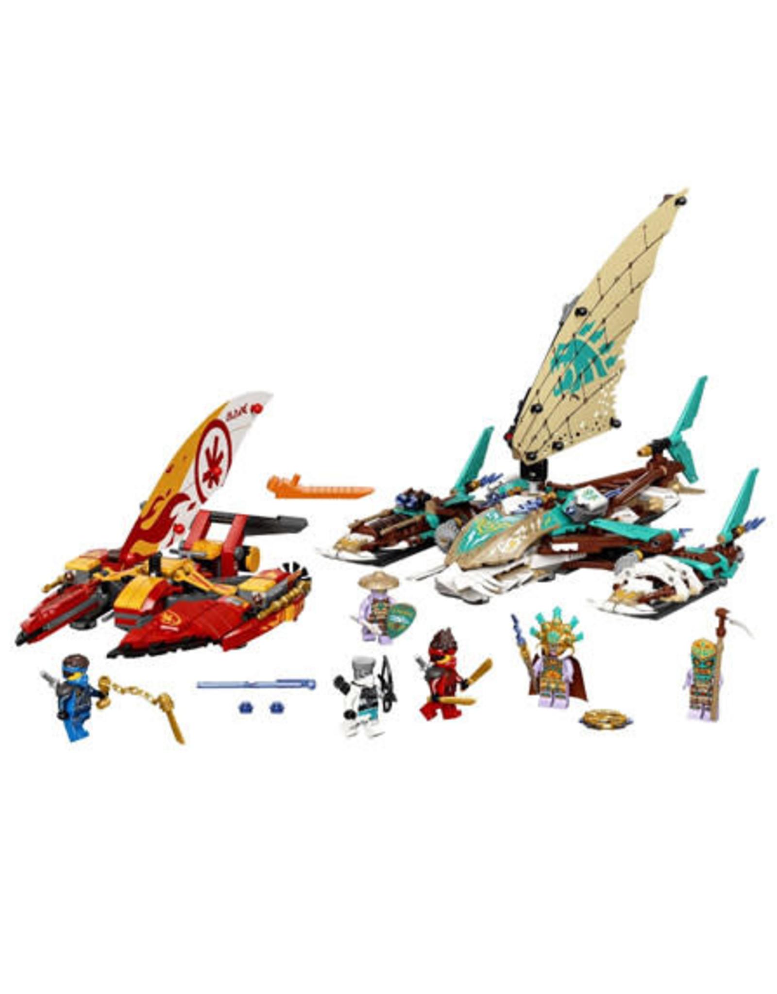 LEGO LEGO 71748 Catamaran zeeslag NINJAGO NIEUW