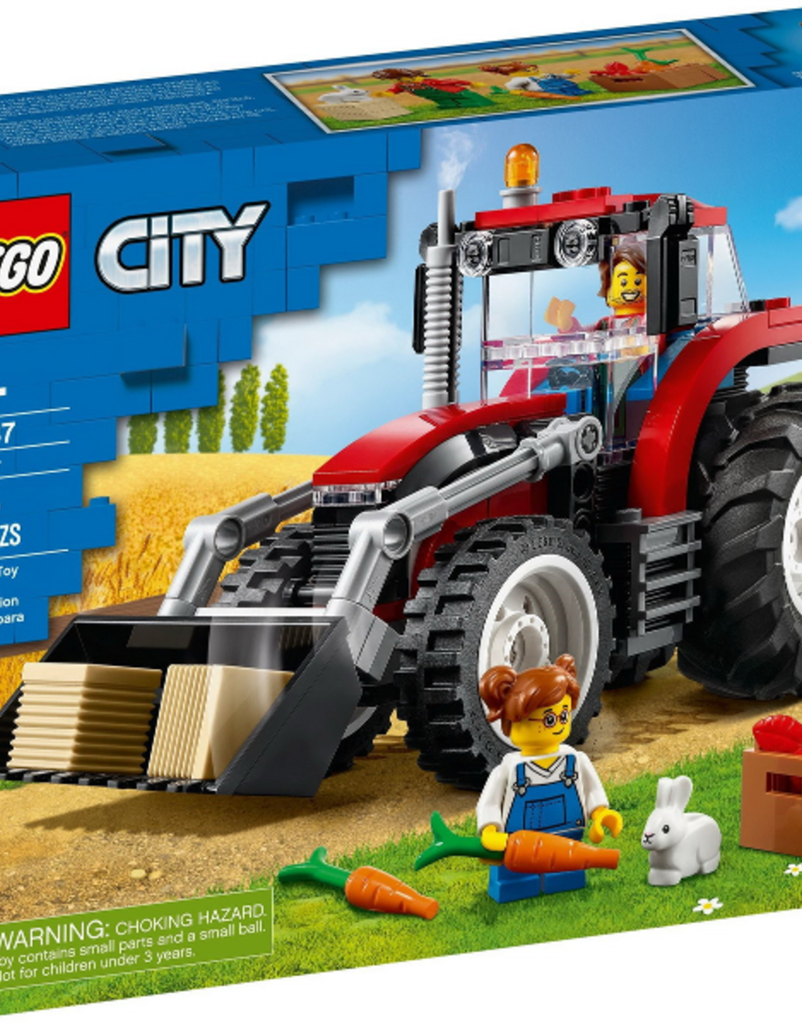 LEGO LEGO 60287 Tractor CITY NIEUW