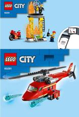 LEGO LEGO 60281 Fire Rescue Helicopter CITY NIEUW