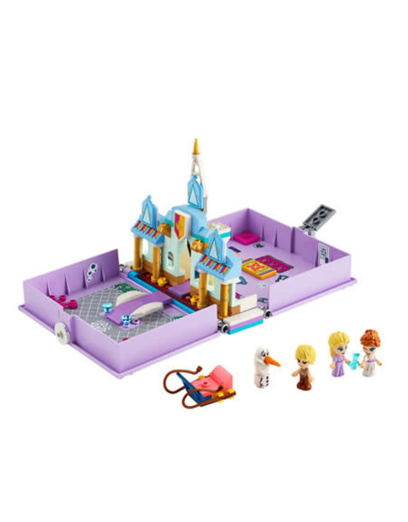 LEGO LEGO 43175 Anna and Elsa's Storybook Adventures DISNEY NIEUW