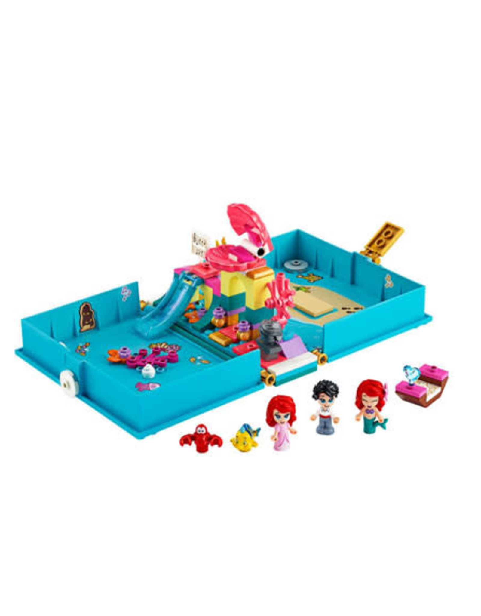 LEGO LEGO 43176 Ariel's Storybook Adventures DISNEY NIEUW