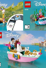LEGO LEGO 43191 Ariel's Celebration Boat DISNEY NIEUW
