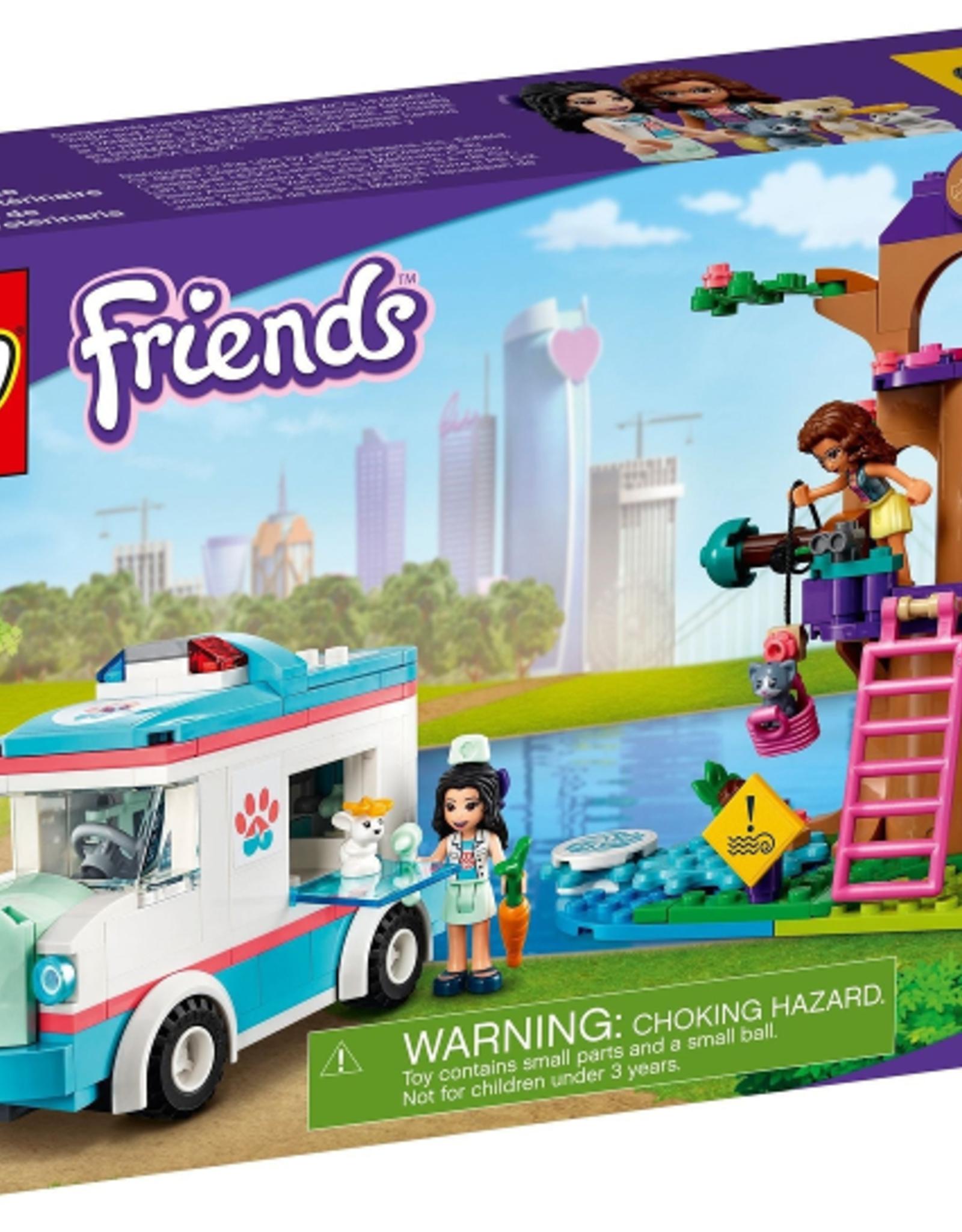 LEGO LEGO 41445 Vet Clinic Ambulance FRIENDS NIEUW