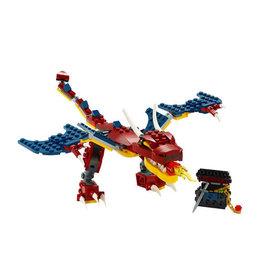 LEGO 31102 Fire Dragon CREATOR NIEUW