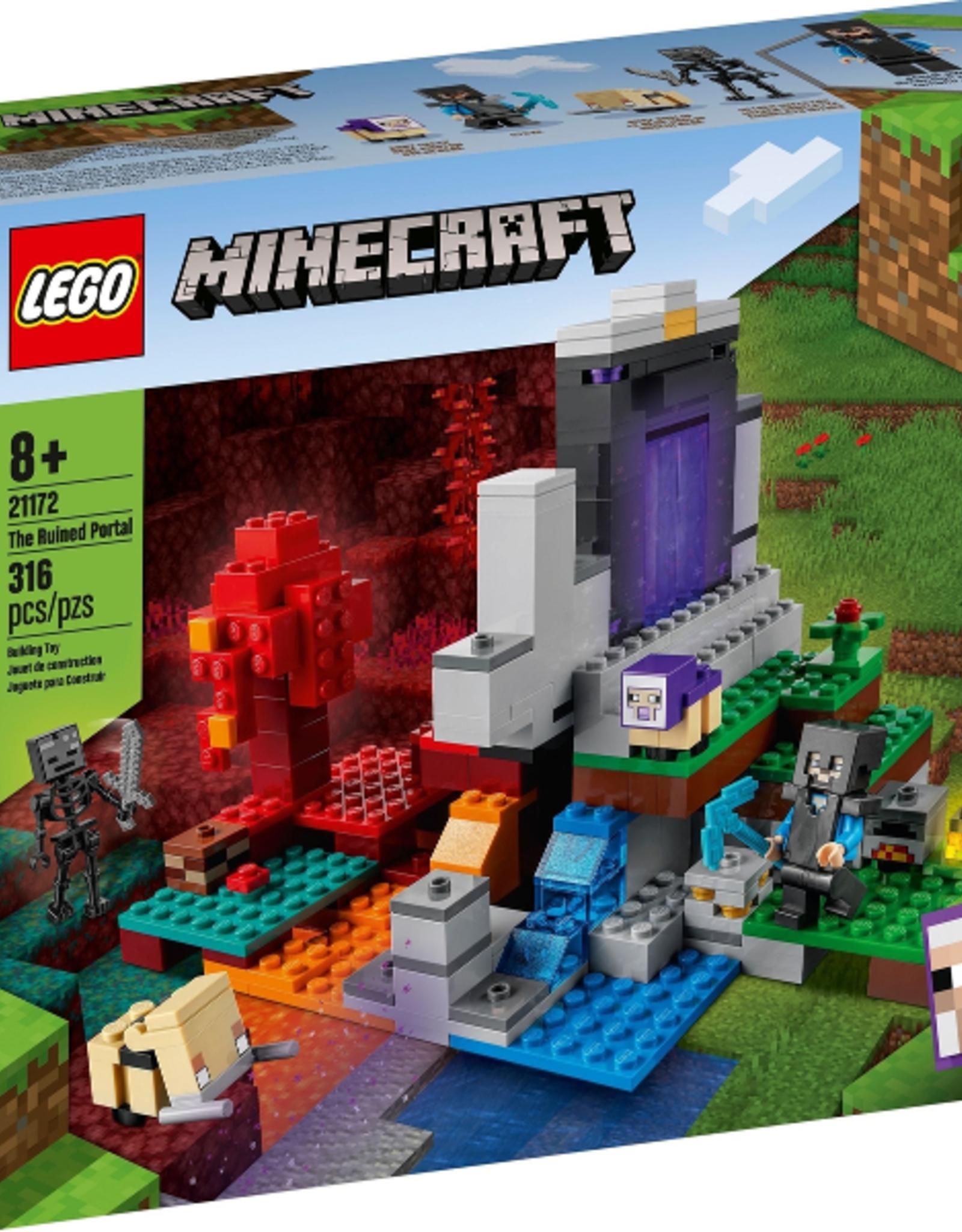 LEGO LEGO 21172 The Ruined Portal MINECRAFT NIEUW