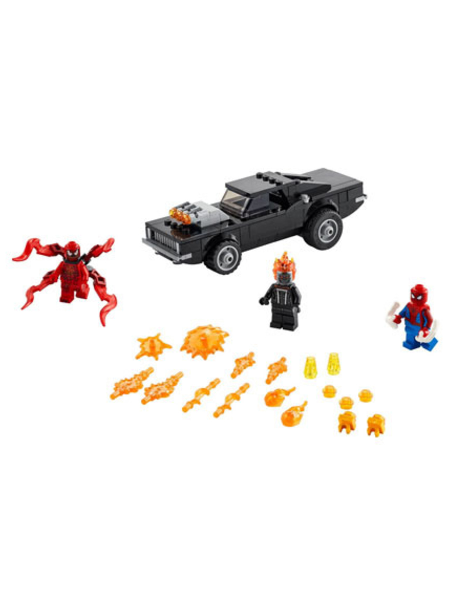 LEGO LEGO 76173 Spider-Man and Ghost Rider vs. Carnage SUPER HEROES NIEUW
