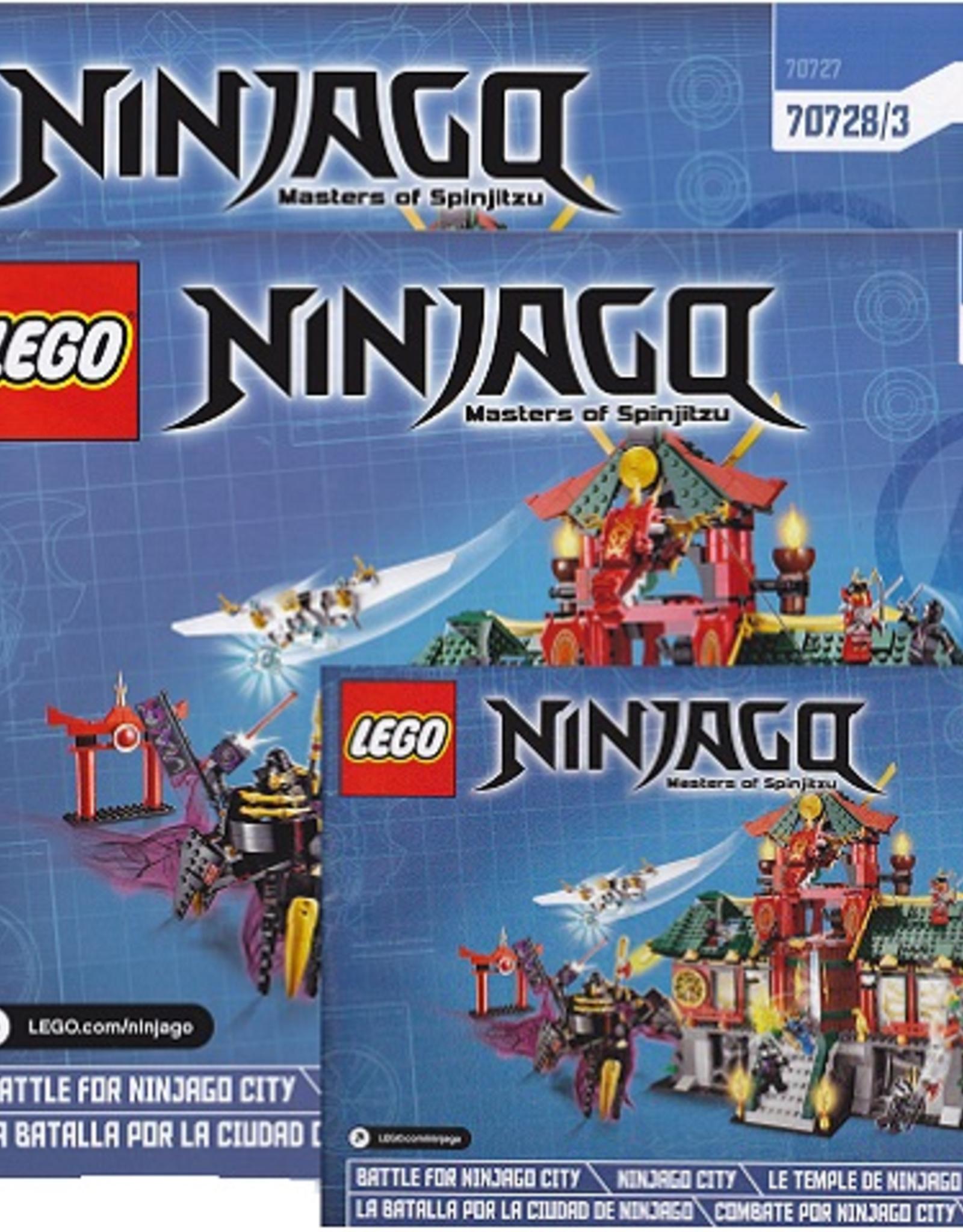 LEGO LEGO 70728 Battle for Ninjago City NINJAGO