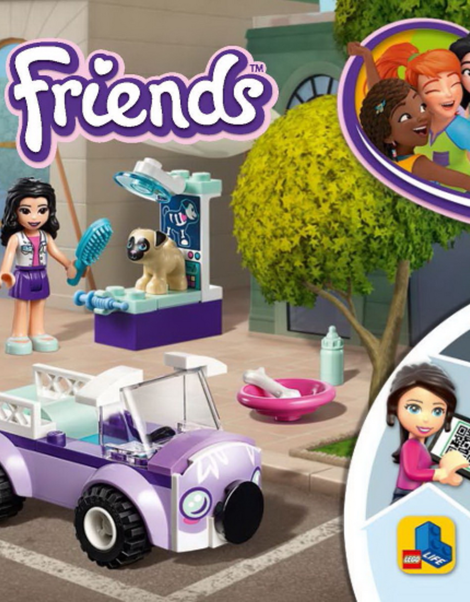 LEGO LEGO 41360 Emma's Mobile Vet Clinic FRIENDS