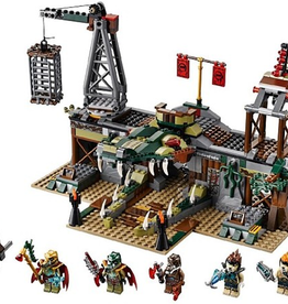 LEGO 70014 The Croc Swamp Hideout CHIMA