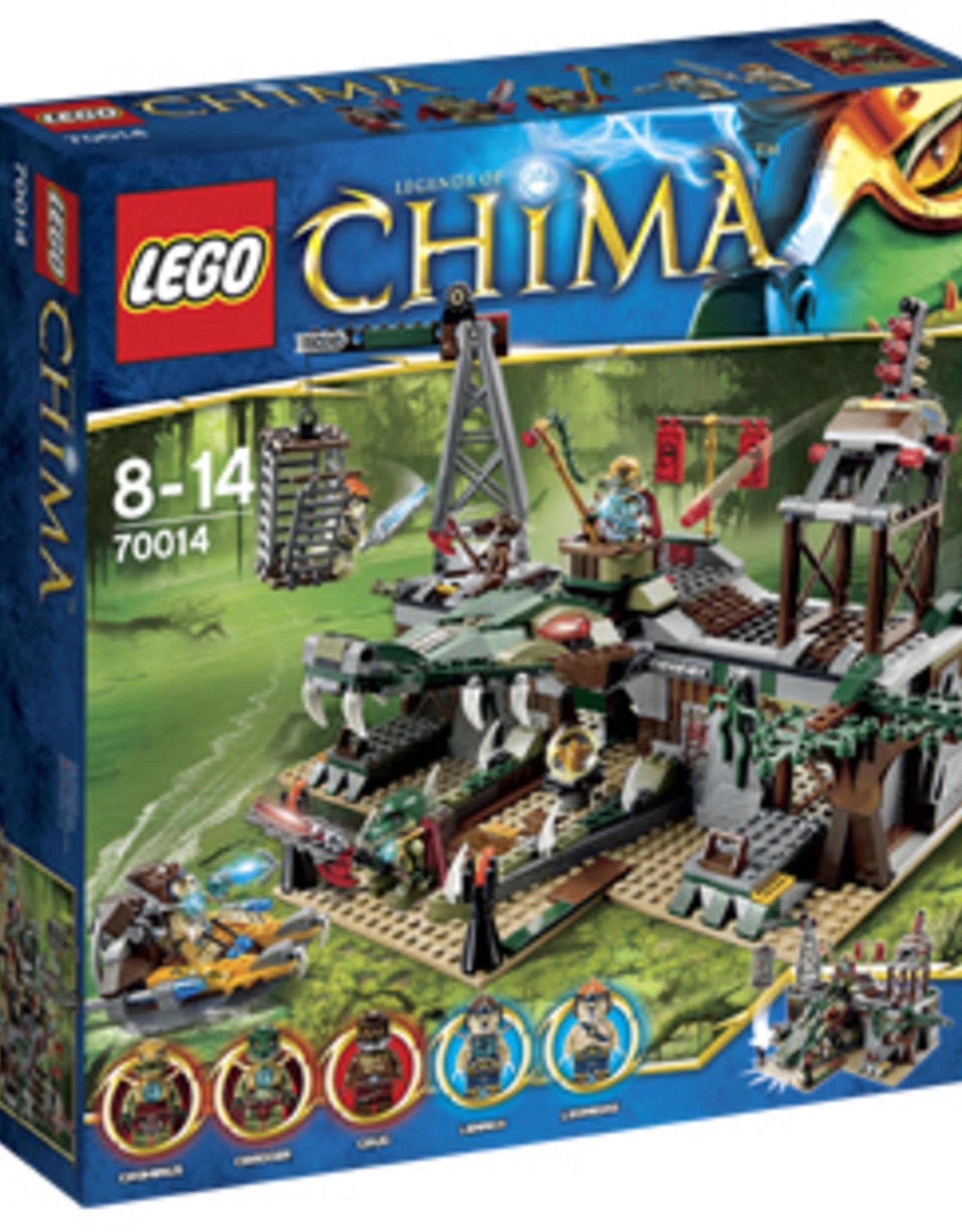 LEGO LEGO 70014 The Croc Swamp Hideout CHIMA