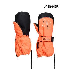 SINNER WANTEN TIMBER mitten Neon Orange UNISEX maat S