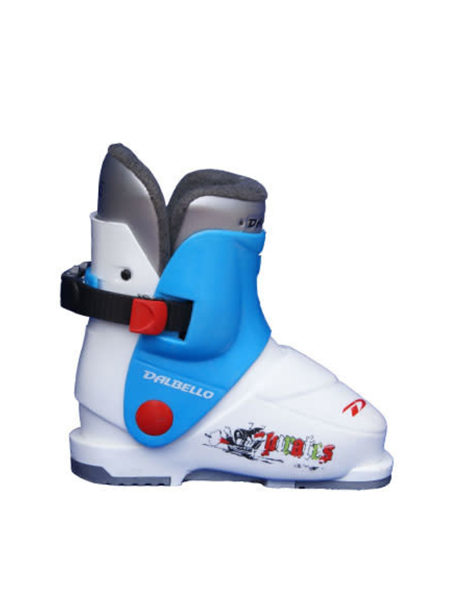 DALBELLO Skischoenen DALBELLO Pirates (blw/wit) Gebruikt 26 (mondo 16.5)