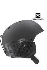 SALOMON Skihelm Brigade Zwart