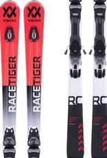 VOLKL Volkl Racetiger RC UVO rood/zw Ski's Gebruikt
