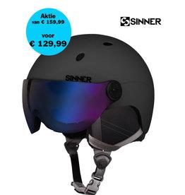 SINNER Helm Sinner Titan Visor Mat Black