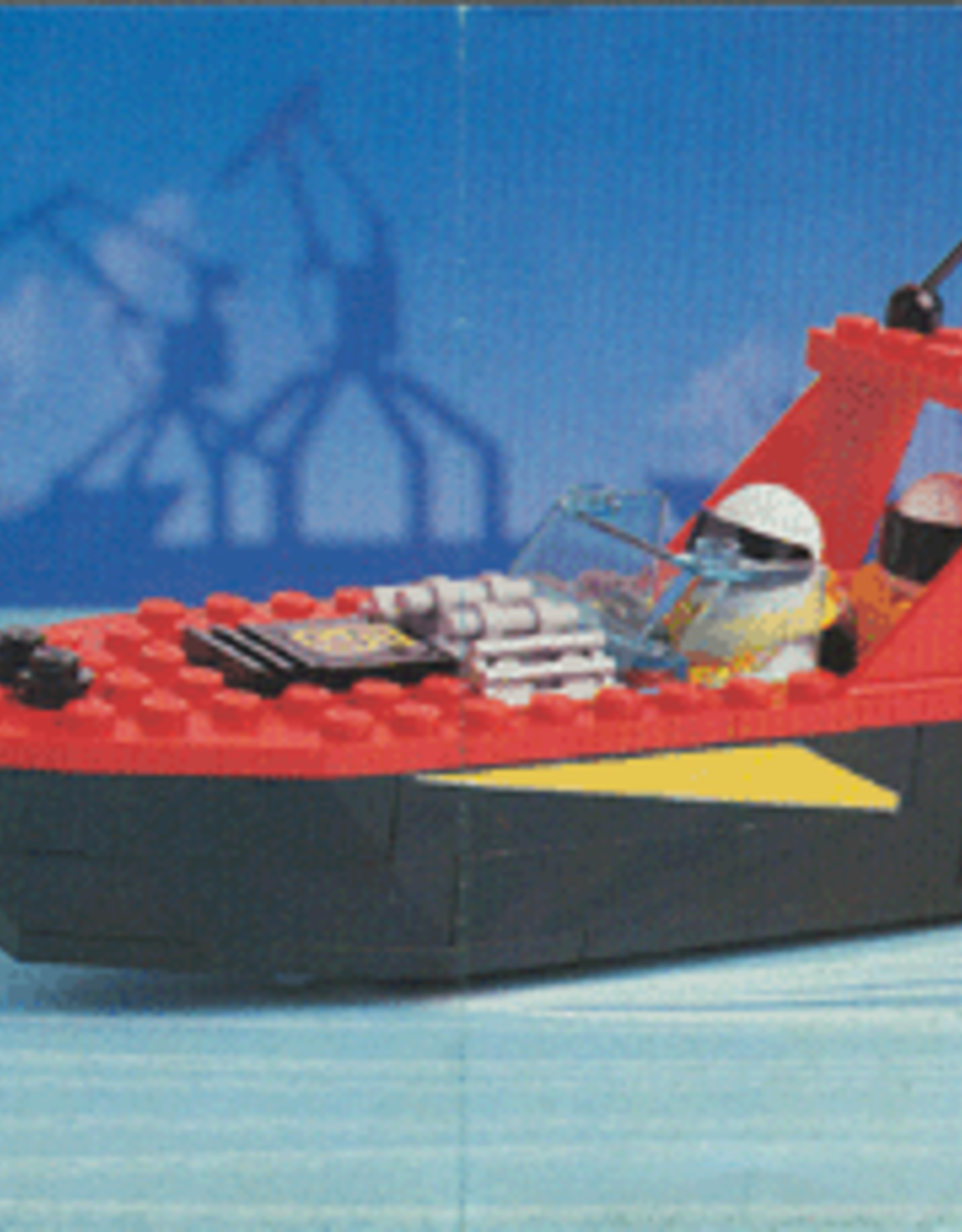 LEGO LEGO 6679 Dark Shark - Harbor