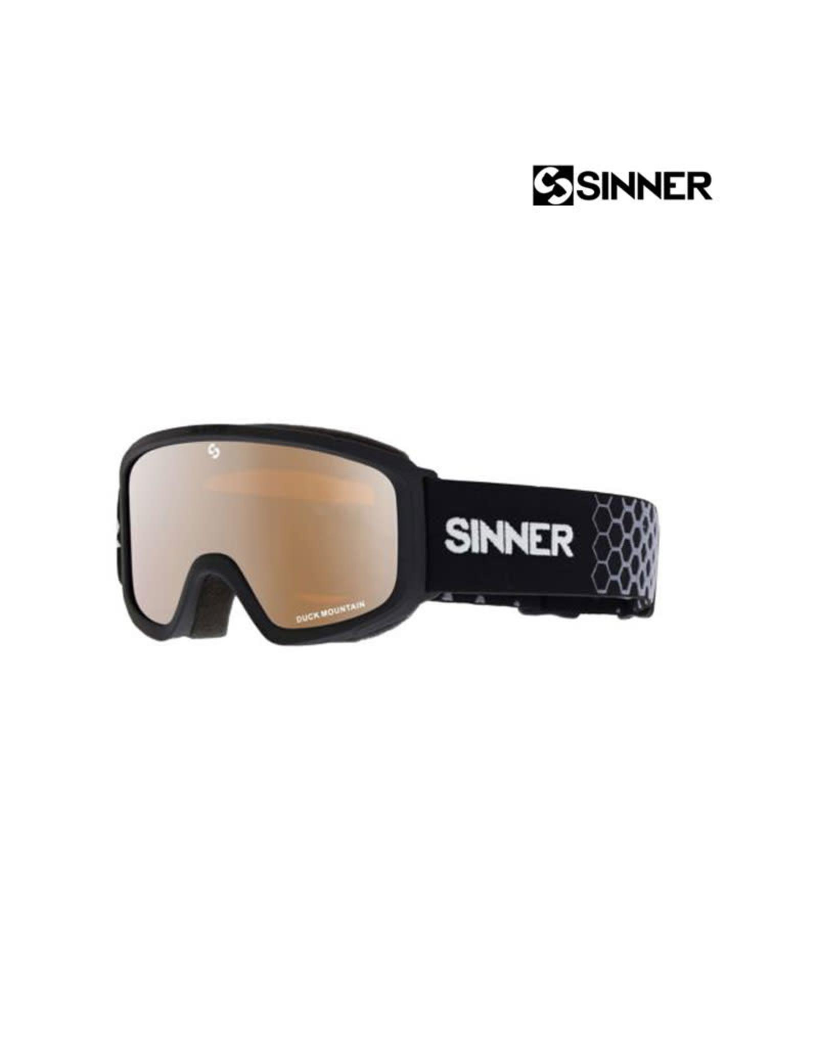 SINNER SKIBRIL SINNER DUCK MOUNTAIN Black/MIRROR