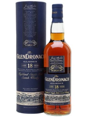 GlenDronach 18 Years Allardice 70CL - Bottled 2018