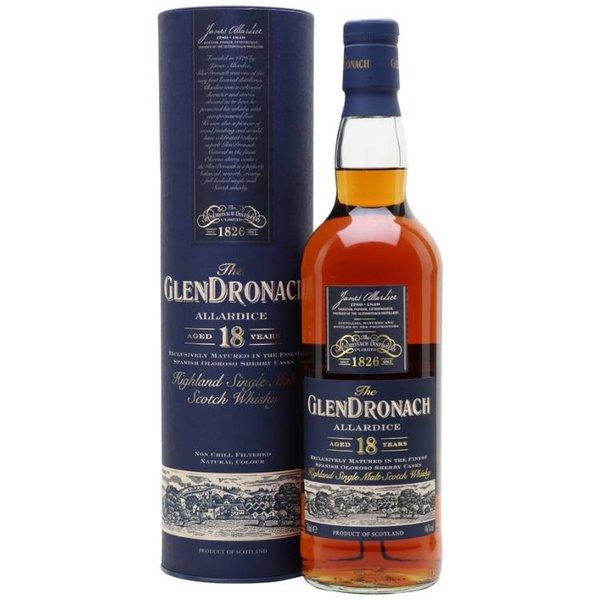 GlenDronach 18 Years Allardice 70CL - Bottled 2018