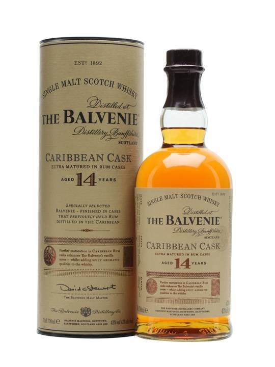 The Balvenie The Balvenie Single Malt Caribbean Cask 70 CL