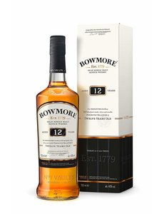 Bowmore 12 Year Single Malt 70CL In Giftbox