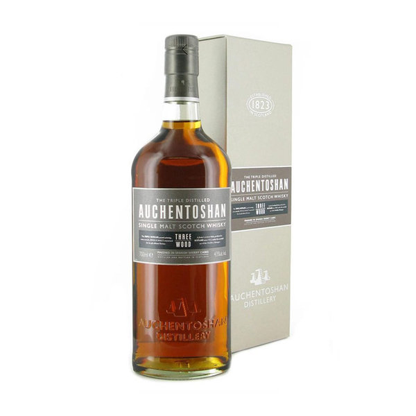 Auchentoshan Auchentoshan Three Wood in Giftbox 70CL