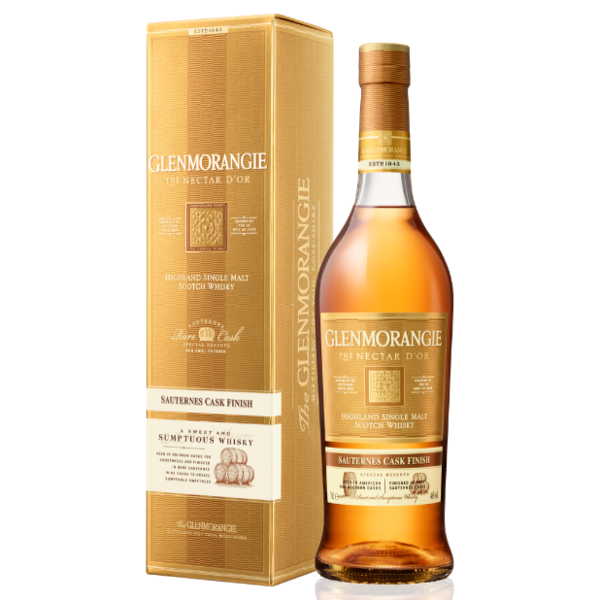 Glenmorangie Nectar d'Or 70CL Single Malt Scotch Whisky - 12 Years Old