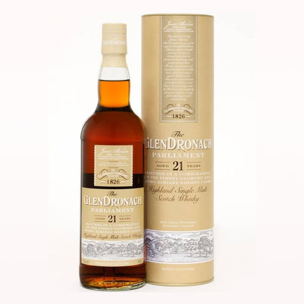 GlenDronach 21 years Parliament 70CL