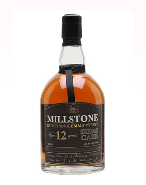 Millstone Dutch Single Malt Whisky Aged 12 Years 70CL
