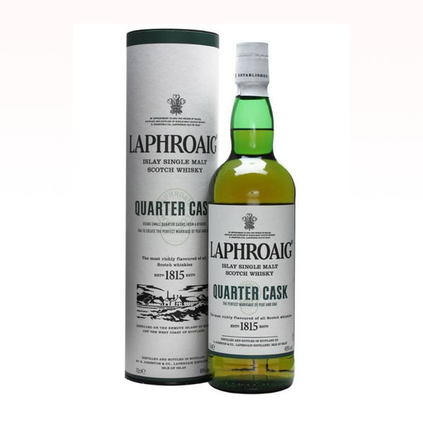 Laphroaig Quarter Cask Islay Single Malt Scotch Whisky 70CL