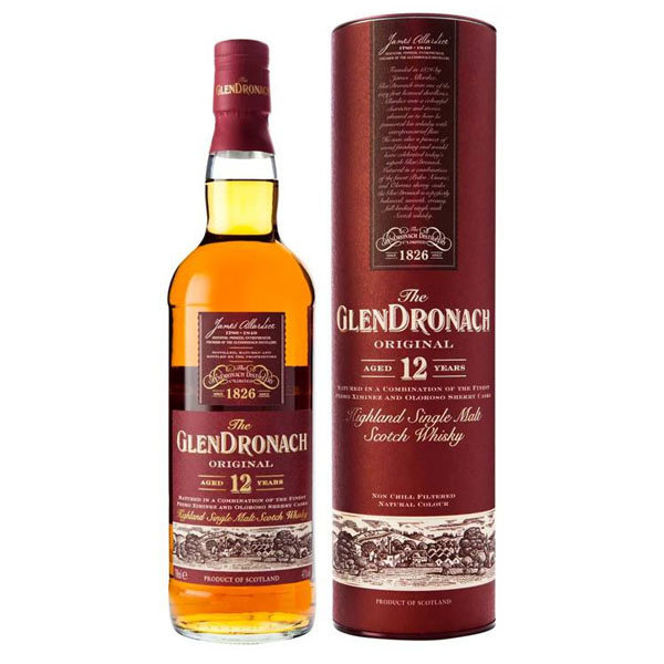 GlenDronach 12 years Original 70CL - Bottled 2017