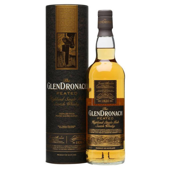 GlenDronach Peated 70CL - Bottled 2016
