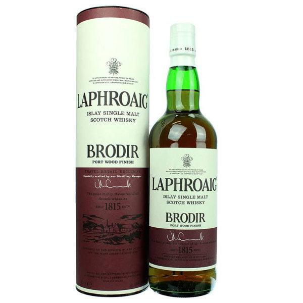 Laphroaig Single Malt Brodir Port Wood Finish 70 CL