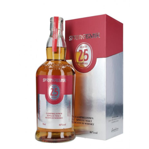 Springbank 25 Years 2021 Edition LIMITED
