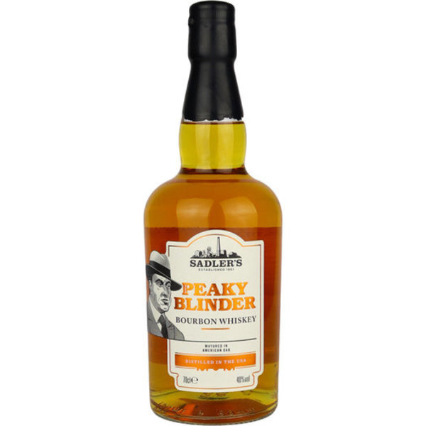 Sadlers Peaky Blinder Bourbon Whiskey 70CL